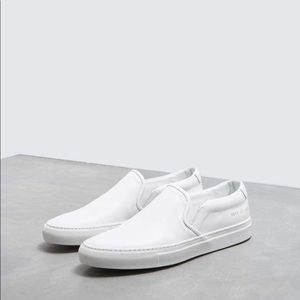 Woman By Common Projects Slip On Sneakers White